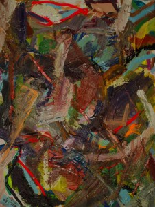 """""""Fascist Frenzy Freedom Celebration"""", oil and acrylic on canvas--SOLD"""