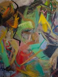 """""""Flying spirit"""", oil on canvas"""